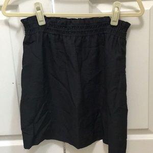 J. Crew charcoal grey skirt